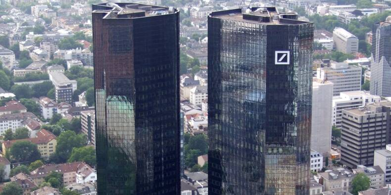 Deutsche Bank in the sights of the United States, risk of new fine! Logo