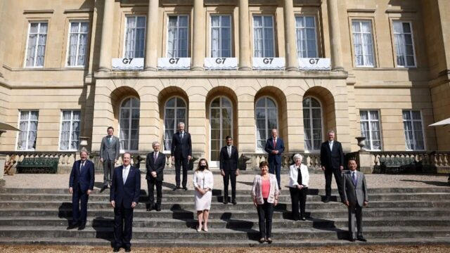 G7 lays groundwork for sweeping global tax reform Logo