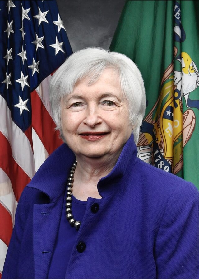 United States: no risk of hyperinflation said Yellen Logo