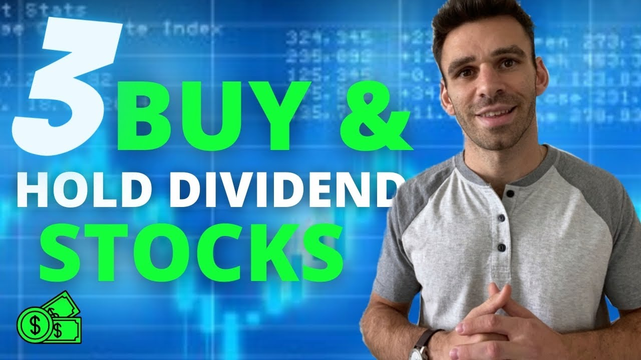 3 Dividend Stocks Im Buying Now   Dividend Investments To HOLD For Life 💰 💰 Logo