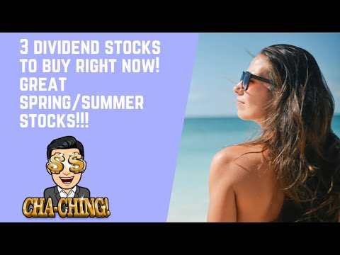 3 Dividend Stocks To Buy Now For Dividend Income I Dividend Portfolio and Dividend Investing 2021 Logo