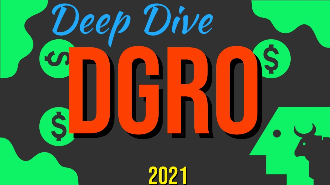 Deep Dive Into Dividend ETF DGRO iShares Core Dividend Growth ETF (Brainpower Dividend Investing) Logo