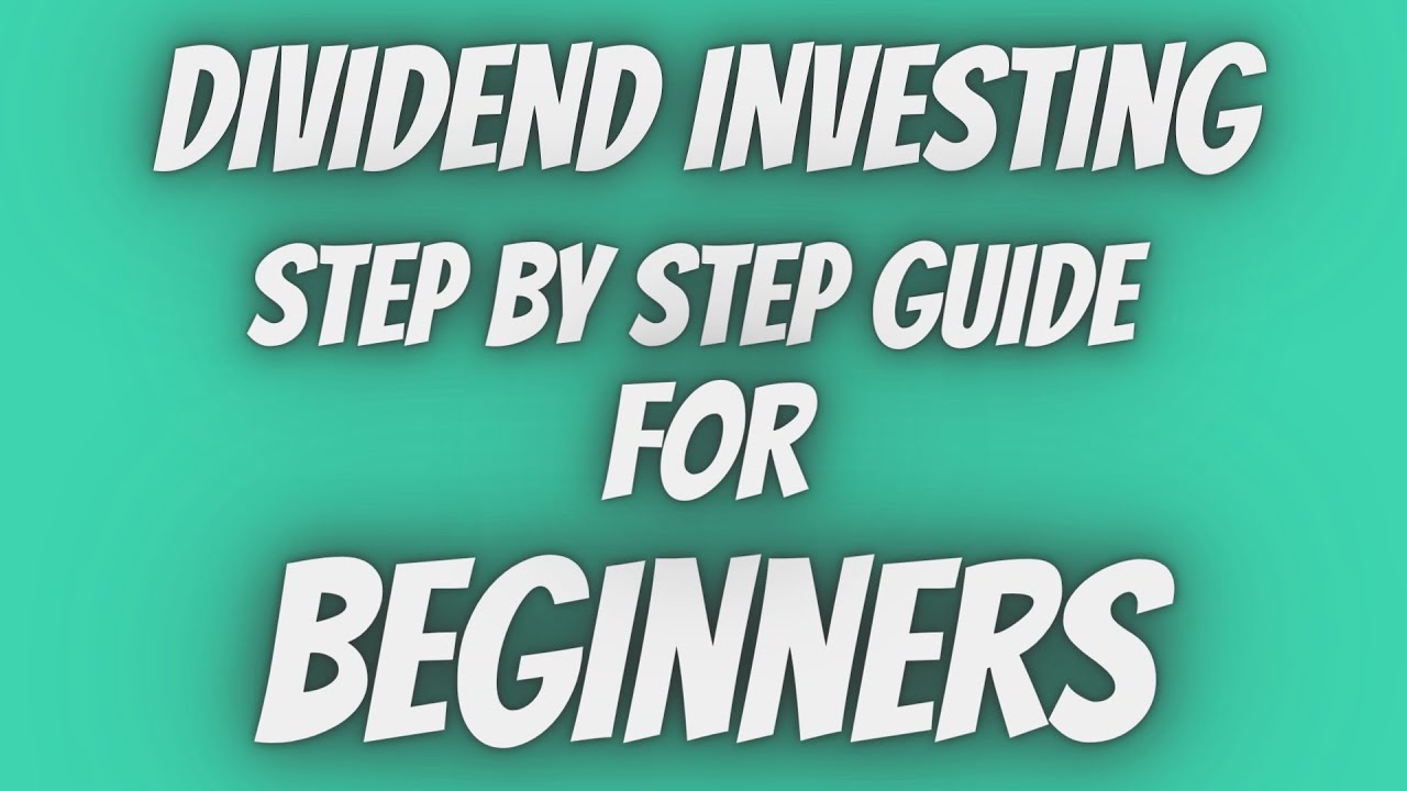Dividend Investing  Step By Step Guide For BEGINNERS! Logo