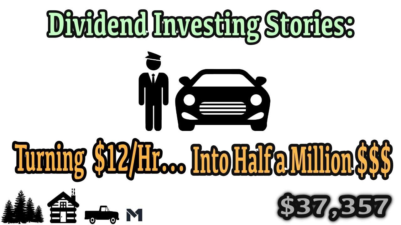 Dividend Investing Stories: How $12/Hr Turned Into Half a Million Dollars Logo