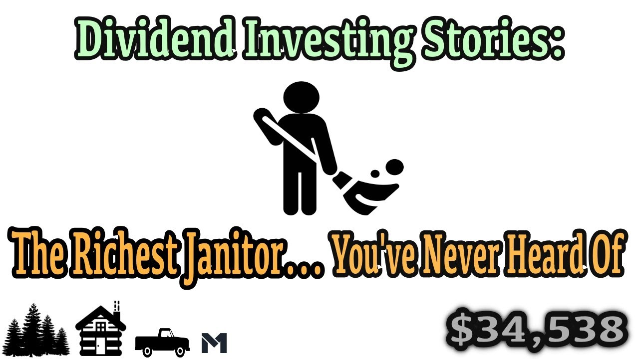 Dividend Investing Stories   The Unbelievable True Story of the Secret Multi Millionaire Janitor Logo