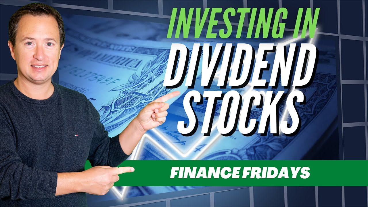 [EP-01] Investing in Dividend Stocks in 90 Seconds ~ [Finance Fridays] Logo