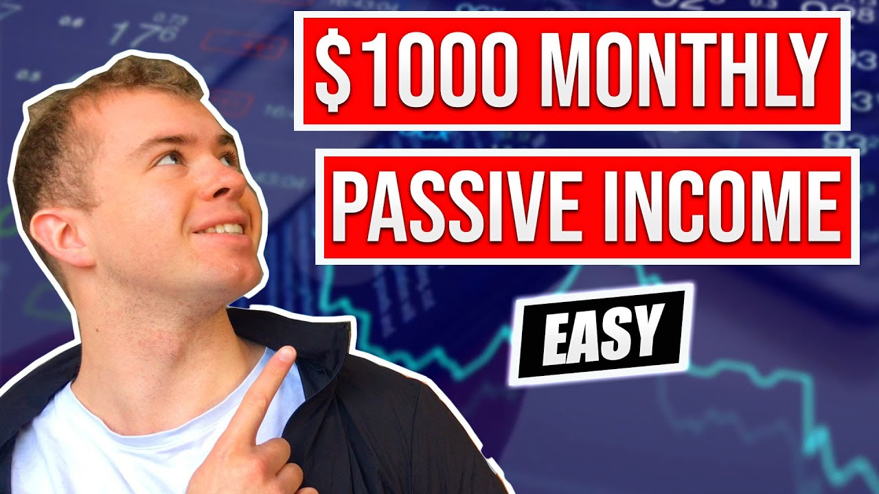 How To Generate Passive Income With Dividend Investing ($1000 Monthly) Logo