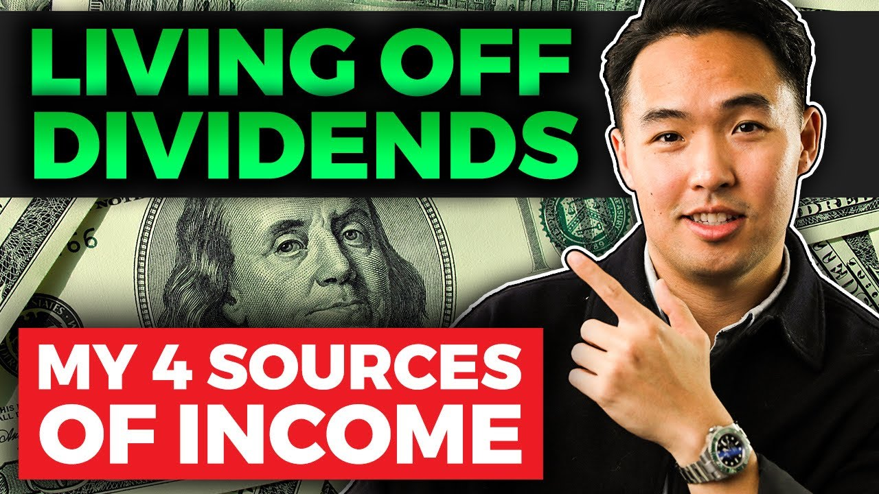 How to Live Off Investments and Dividends (My 4 Sources of Income) Logo