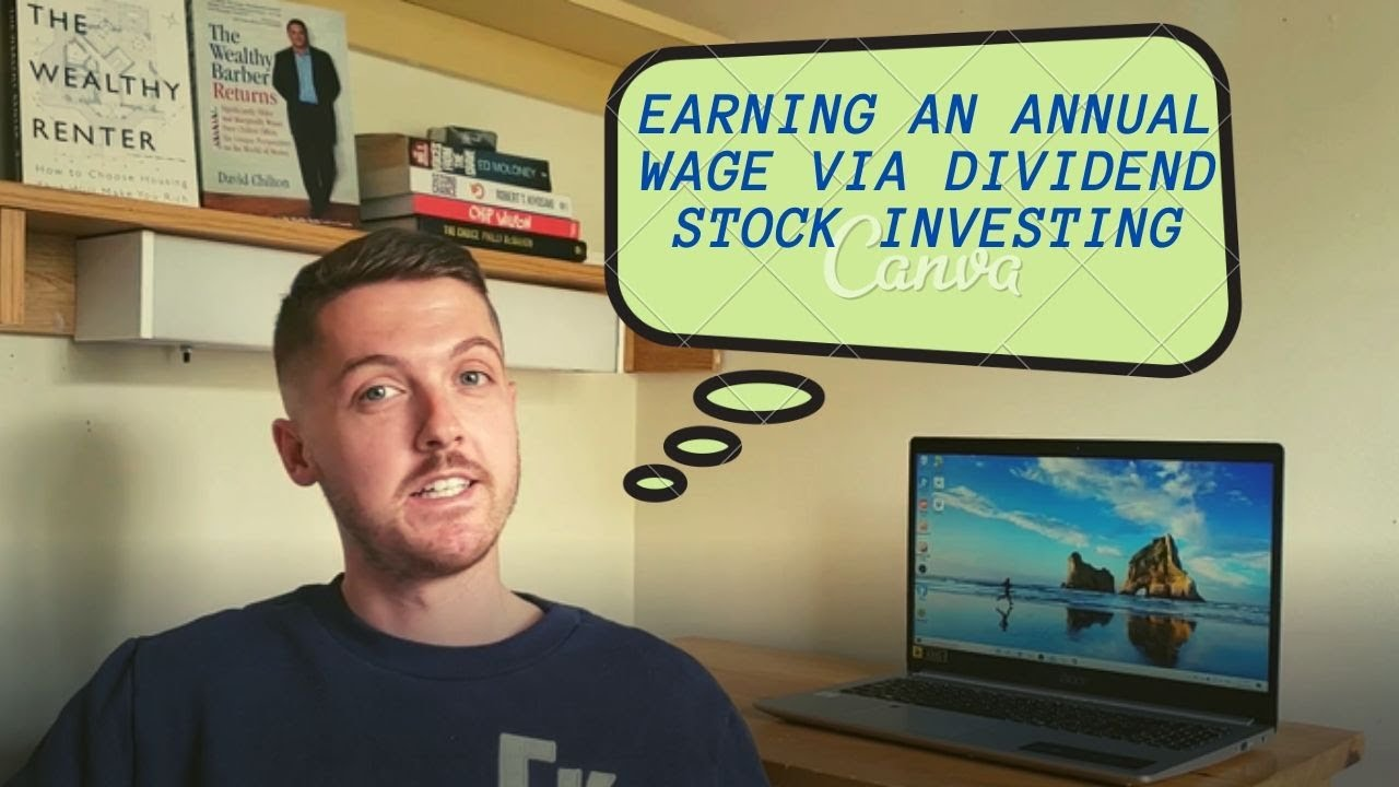 How to reach financial freedom through Dividend Stock Investing Logo