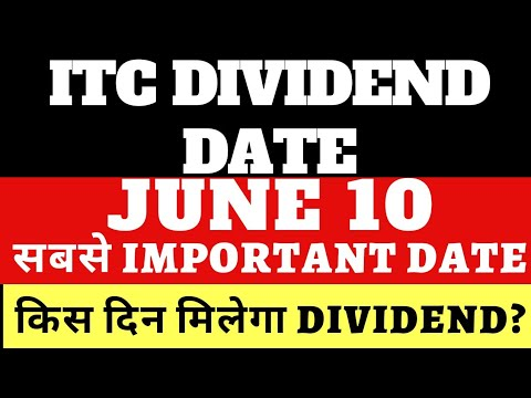 ITC Dividend payout date   ITC Dividend 2021 record date   ITC Share dividend 2021 Logo