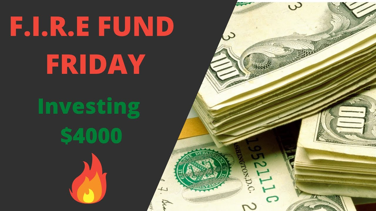 Investing $4000 Dollars a month   Dividend Passive Income   F.I.R.E FUND FRIDAYS [Week 3] Logo