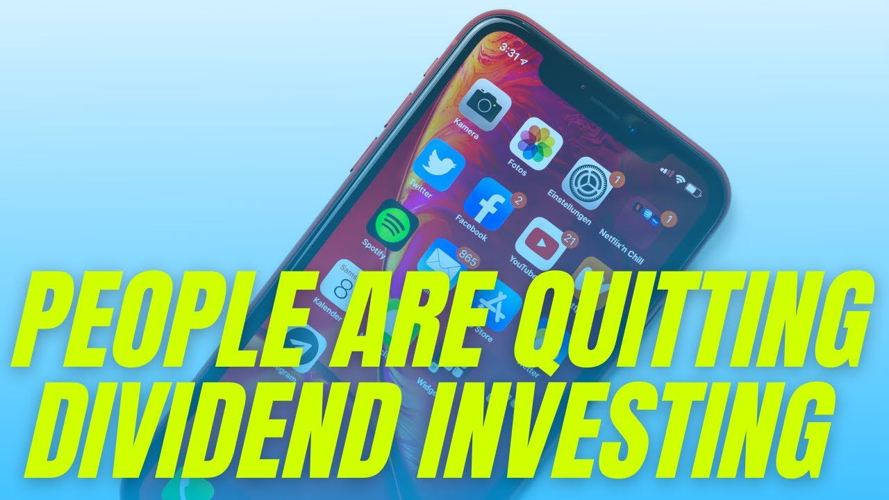 People are Quitting Dividend Investing – My response to Andrei Jikh Logo