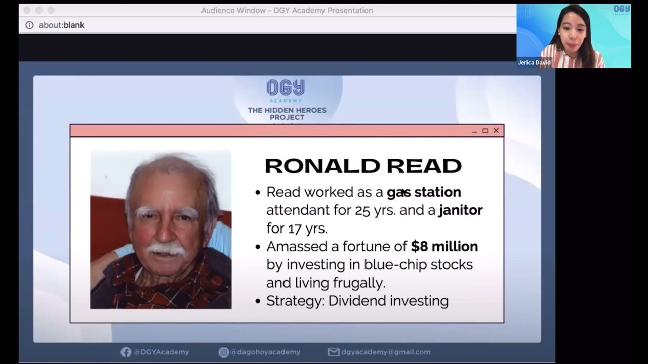 Ronald Read and his Dividend Investing Strategy Logo