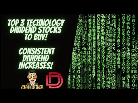 Top 3 Tech Dividend Stocks to Buy! Dividend Stock Analysis and Dividend Growth Investing Logo