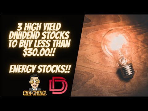Top Energy Dividend Stocks to Buy Now LESS THAN $30.00!!! High Yield Dividend Investing Strategy Logo